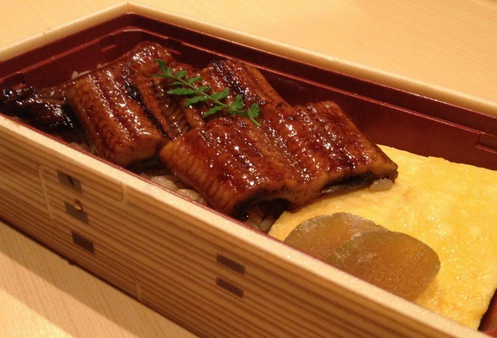 うな玉重~鰻と出汁巻き玉子のお弁当~ 1,600円(税込) 福岡、西中洲のお持帰り、テイクアウト